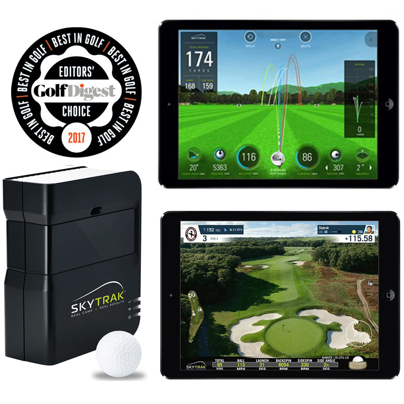 SkyTrak Net Return Fiberbuilt Studio Golf Simulator Package