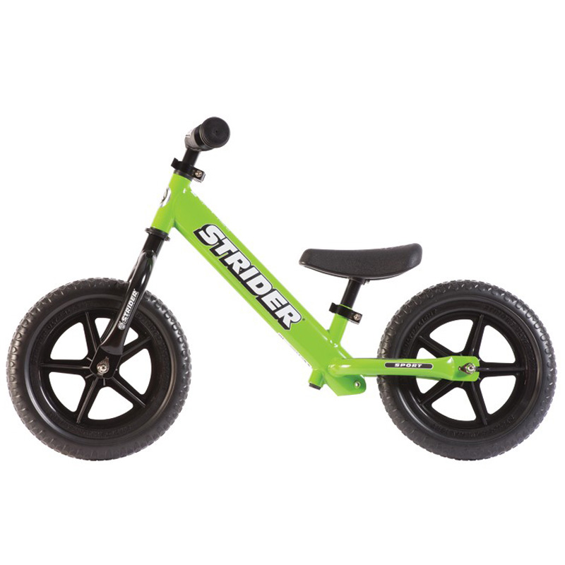 Amazing Details About Strider 12 Sport Kids Balance Bike Learn To Ride No Pedal Bike Green New Pdpeps Interior Chair Design Pdpepsorg