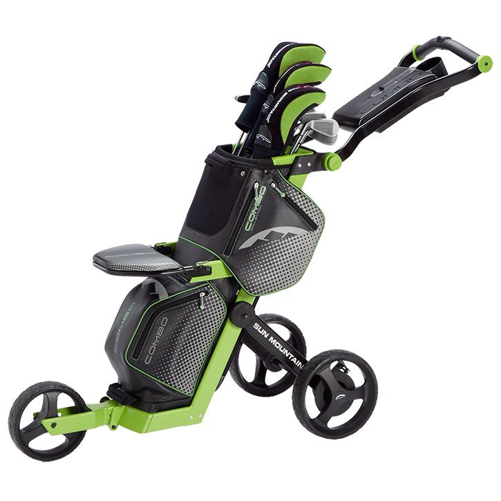 2018 Sun Mountain Combo Golf Push Cart At Intheholegolf