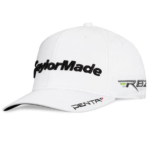TaylorMade 2012 Tour DJ Hat - White at InTheHoleGolf.com 875e1b4e8d1