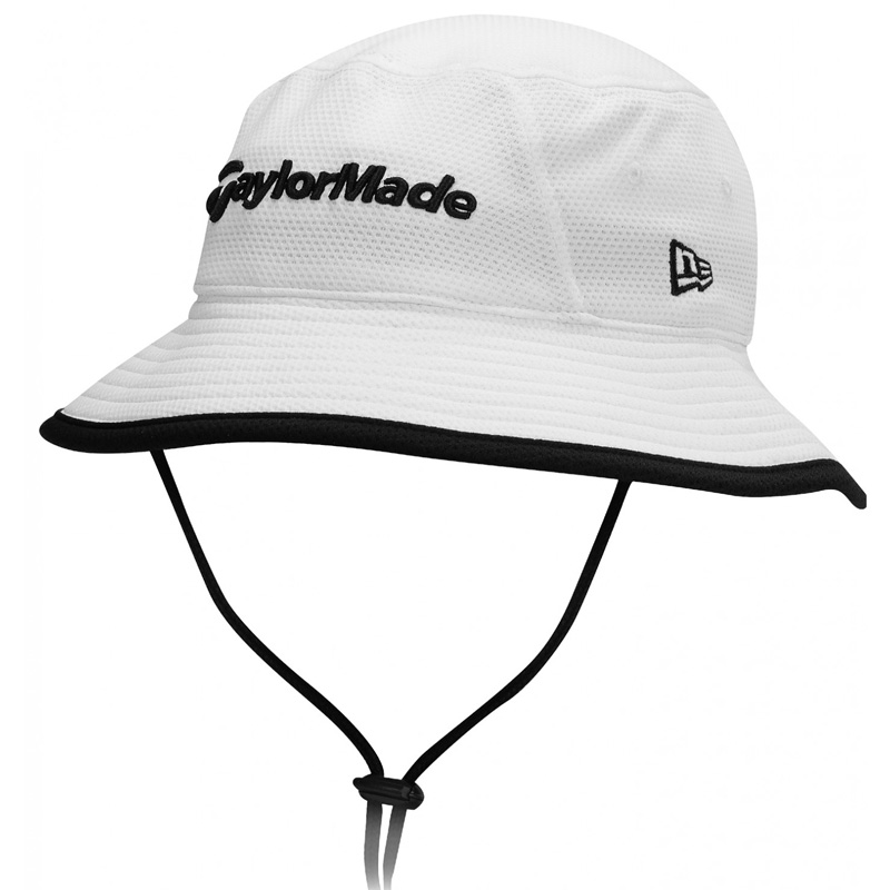 2016 TaylorMade Travel Bucket Hat - White at InTheHoleGolf.com cf3dceecf98