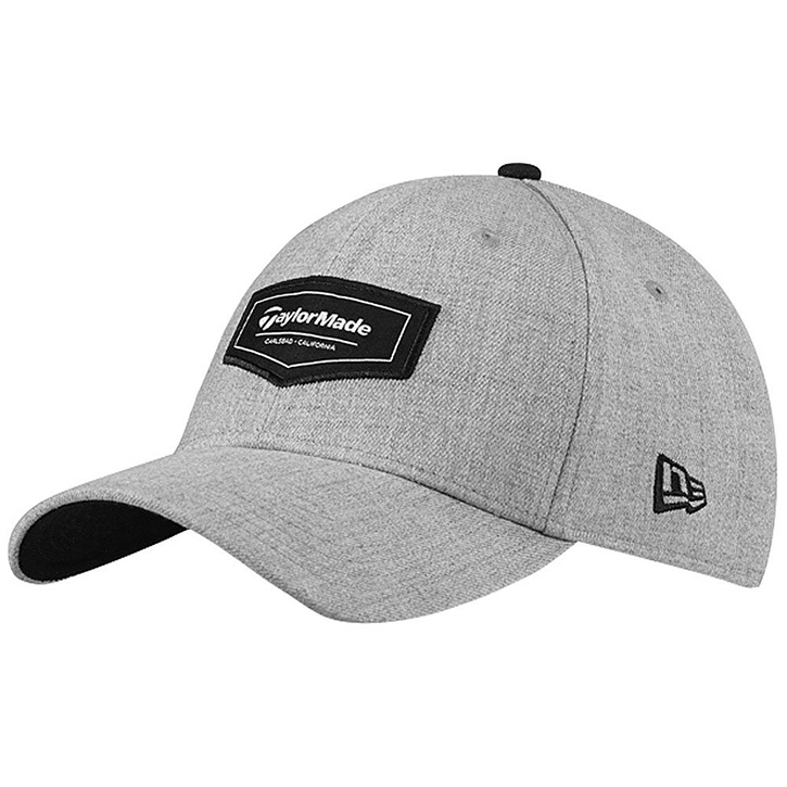 Taylormade Pipeline 39Thirty Golf Hat - Gray Heather at InTheHoleGolf.com 15da77f57e9