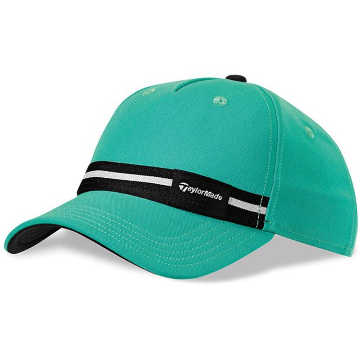 e2e474fac0 Taylormade Ribbon Golf Hat - Womens Emerald/Black at InTheHoleGolf.com