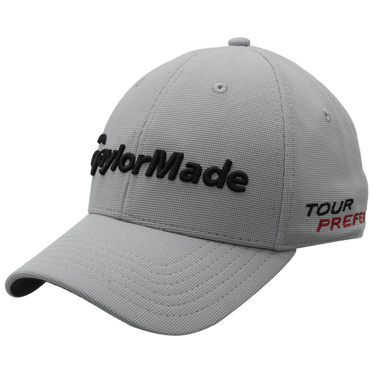 137af6b042ca1 TaylorMade Tour Radar Golf Hat - Gray at InTheHoleGolf.com
