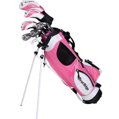 Tour Edge HT Max-J Junior Golf Set (7 Club) - Pink Age 9-12 at InTheHoleGolf.com