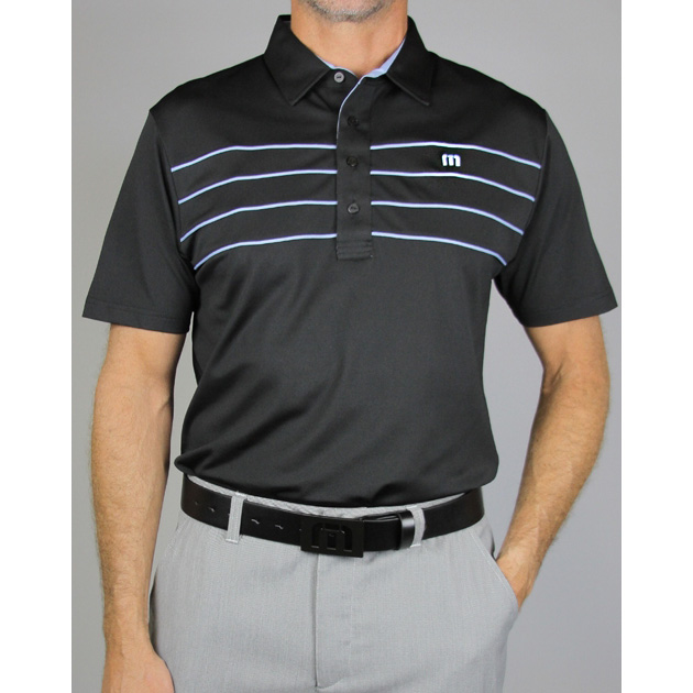 57f1f9f93 Travis Mathew Highline Golf Polo - Black at InTheHoleGolf.com
